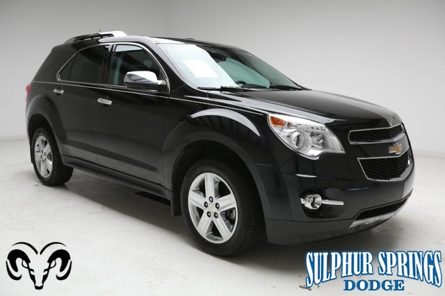 Chevrolet Suv 2015 >> Pre Owned 2015 Chevrolet Equinox Ltz Front Wheel Drive Suv