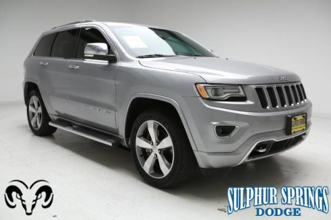 Pre-Owned 2014 Jeep Grand Cherokee Overland 4X4