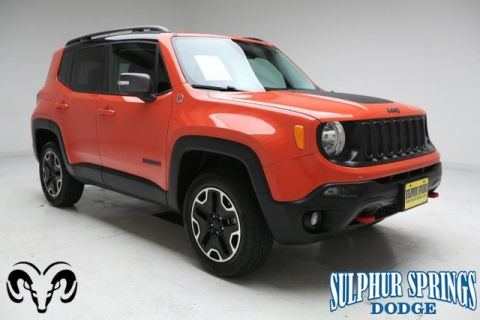 Pre-Owned 2016 Jeep Renegade Trailhawk 4x4